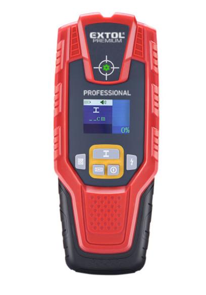 EXTOL PREMIUM 8831321 digitální detektor vodičů, kovů a dřeva