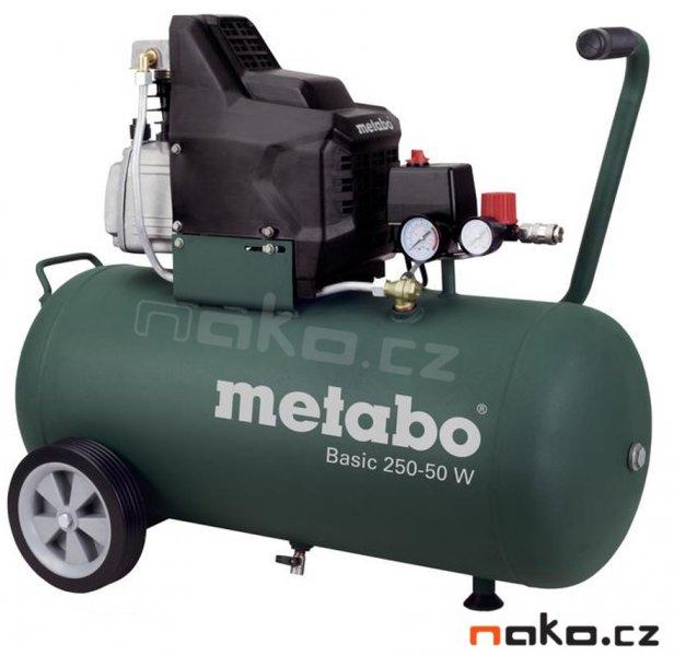 METABO Basic 250-50 W kompresor olejový 601534000