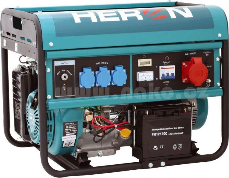 HERON EGM 60 AVR-3E elektrocentrála 6000W ( 8896114 )
