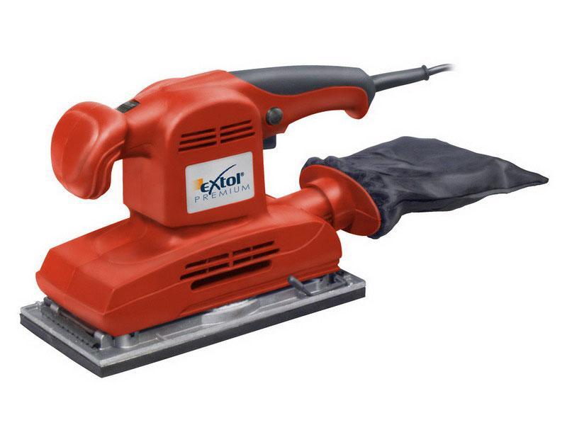 EXTOL PREMIUM OS 280 E bruska vibrační, 280W, 230x115mm, 8894001