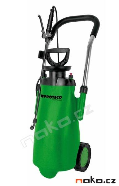 PROTECO Garden 10.80-PT-12-K tlakový postřikovač s kolečky 12l