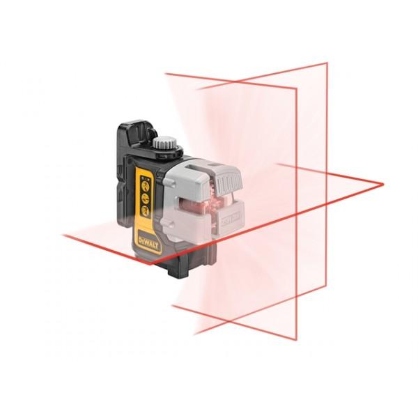 DeWALT DW089K multi line laser, samonivelační křížový laser