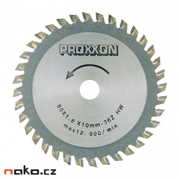 PROXXON 28732 pilový kotouč 80x1,5x10mm 36 zubů
