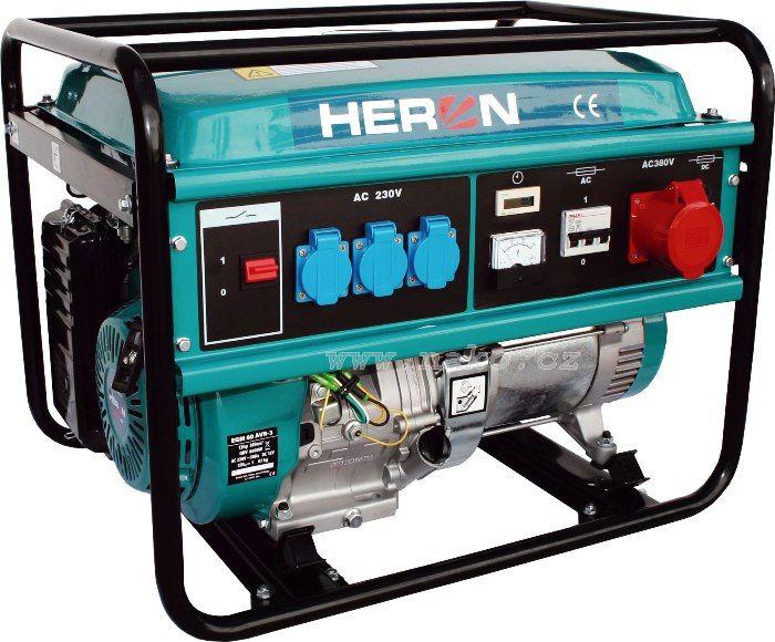 HERON EGM 60 AVR-3 elektrocentrála 6000W ( 8896112 )