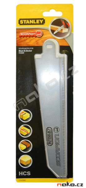 STANLEY pilový list STA29962 do dřeva pro Black&Decker Scorpion RS890K