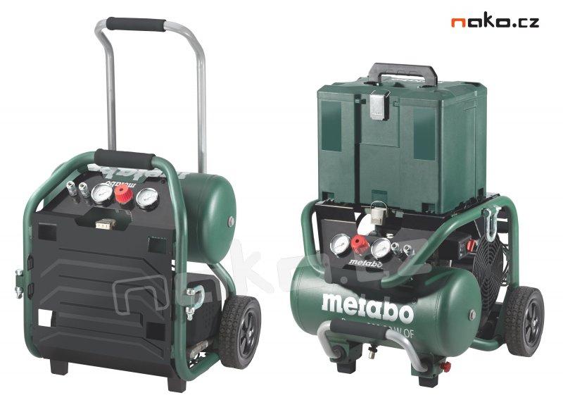METABO Power 400-20 W OF mobilní bezolejový kompresor 601546000