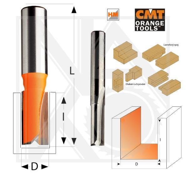 CMT C91210011 drážkovací fréza D10 S8 dlouhá