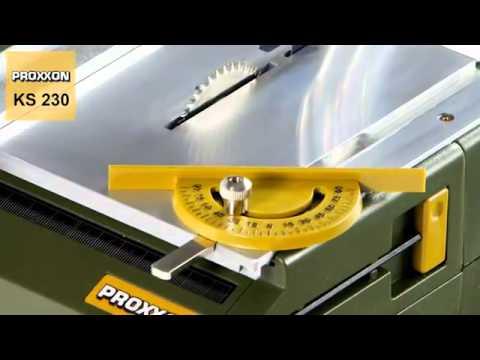 PROXXON KS 230 stolní kotoučová pila 27006