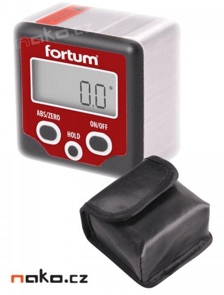 FORTUM 4780200 sklonoměr magnetický digitální, 0-360°