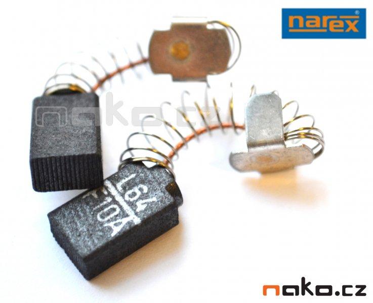 NAREX kartáče - uhlíky 627003 EV,EVP,PDP(pár)