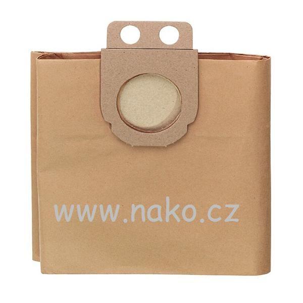 METABO 631348000 sáček filtrační papírový 27l 5ks - balení pro ASA9011