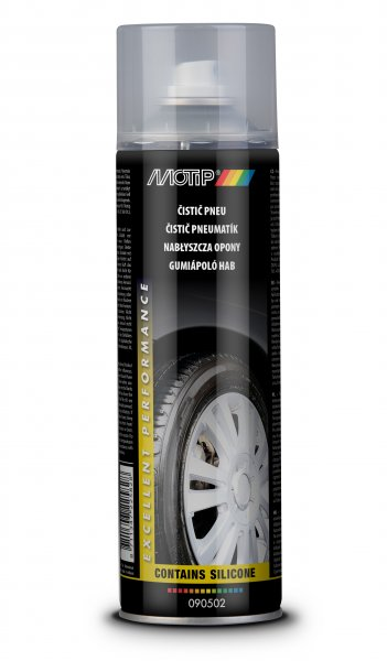 MOTIP čistič pneumatik ve spreji 500ml 090502