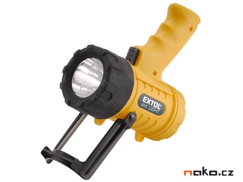 EXTOL LIGHT 43113 přenosná vodotěsná svítilna CREE XPG LED 5W