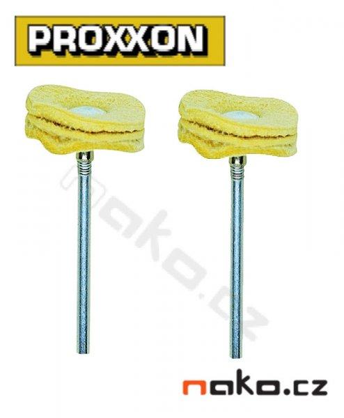 PROXXON 28298 kožený leštící kotouč 22mm (2ks)