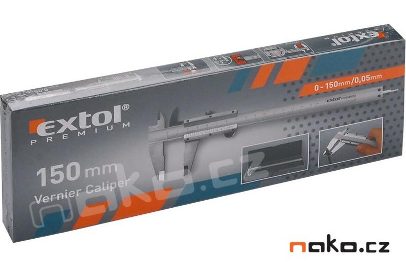 EXTOL Premium měřítko posuvné kovové 150mm 3425