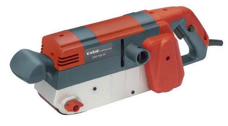 EXTOL PREMIUM EBS 900 VS bruska pásová, 900 W 8894305