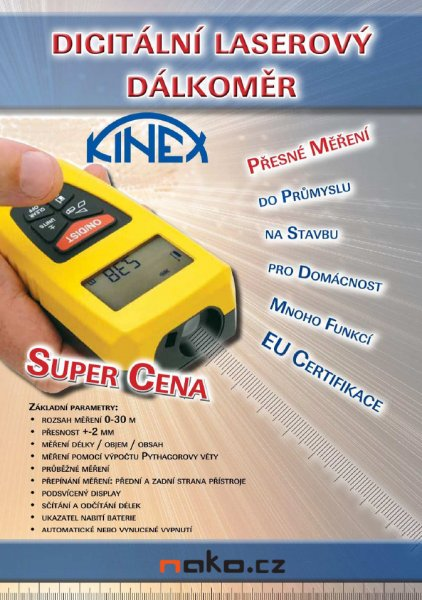 KINEX PD23 dálkoměr laserový 9040-700