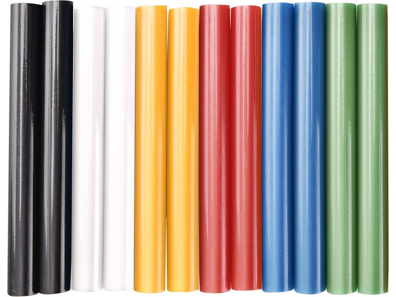 EXTOL CRAFT 9909 tyčinky tavné barevné mix. 11x100mm