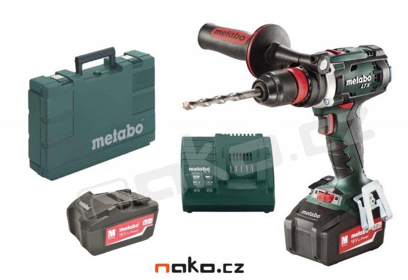 Metabo BS 18 LTX Quick aku vrtačka 18V/2x5,2Ah 602193650