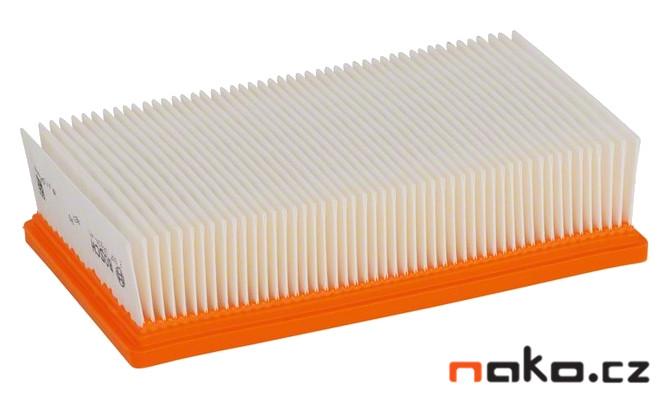 BOSCH plochý polyesterový skládaný filtr pro GAS 35, 2607432034