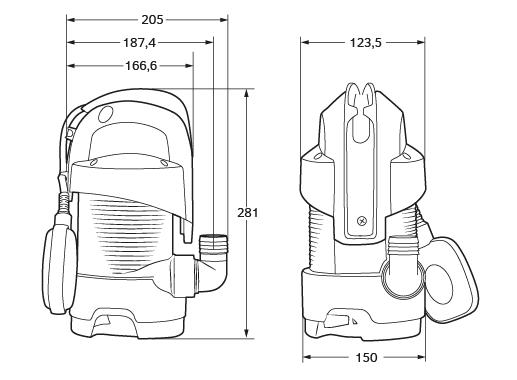 EASY DW 400 univerzální kalové čerpadlo