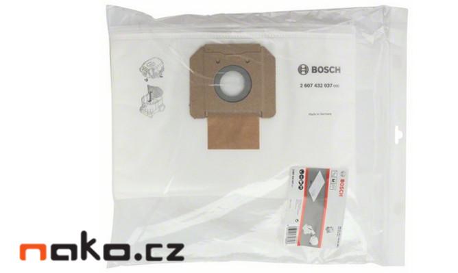 BOSCH filtrační vaky z rouna pro GAS 35, 2607432037, 5ks