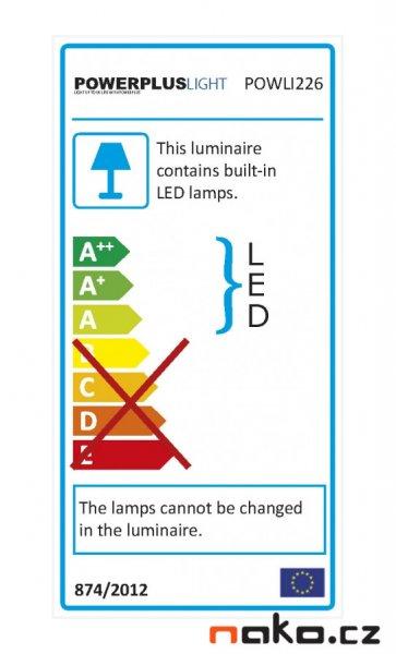 POWERPLUS Light POWLI226 přenosná AKU LED lampa 10W 2,6Ah LiIon s podstavcem