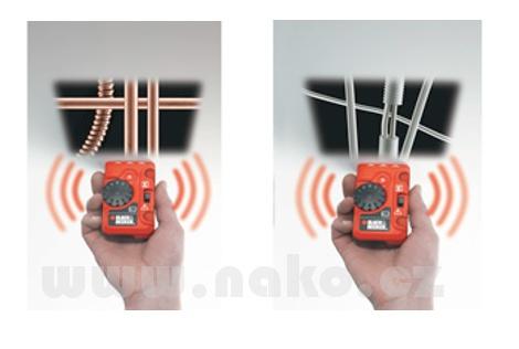 BLACK&DECKER BDS200 detektor kovů a vodičů