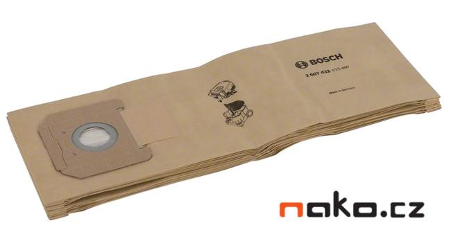 BOSCH papírové filtrační sáčky pro GAS 35, 2607432035, 5ks