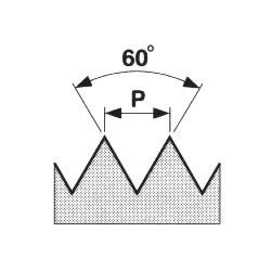 Ruční sadový závitník 223010 NO M12 /110 120/ISO 2N