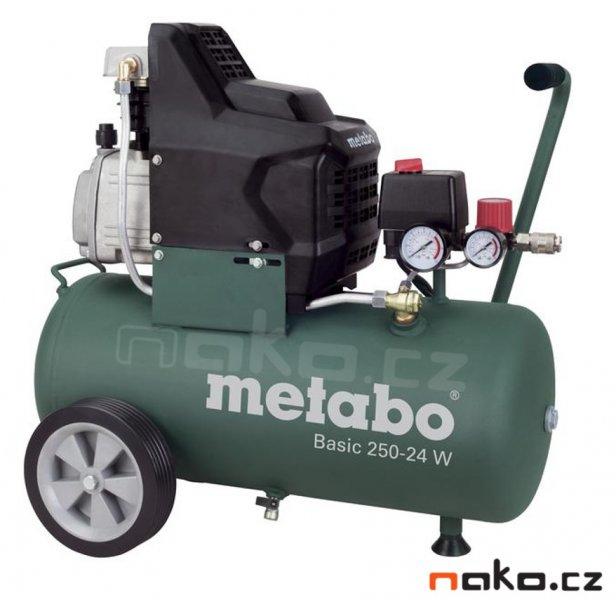 METABO Basic 250-24 W kompresor olejový 601533000