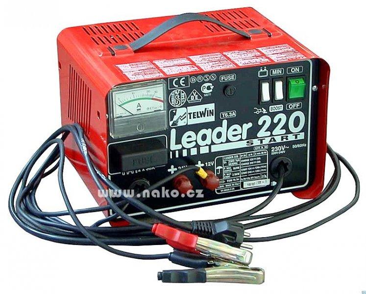 TELWIN nabíjecí a startovací zdroj LEADER 220 START 12/24V