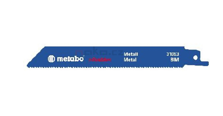 Metabo pilový list 150x1.8mm BiM do ocasky, kov 631491
