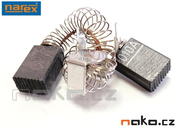 NAREX 66627010 kartáče EPK,EBU15 (pár)