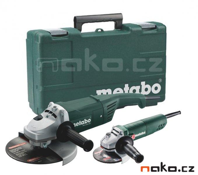 METABO combo set úhlových brusek v kufru WX 2200-230+W 850-125 685086
