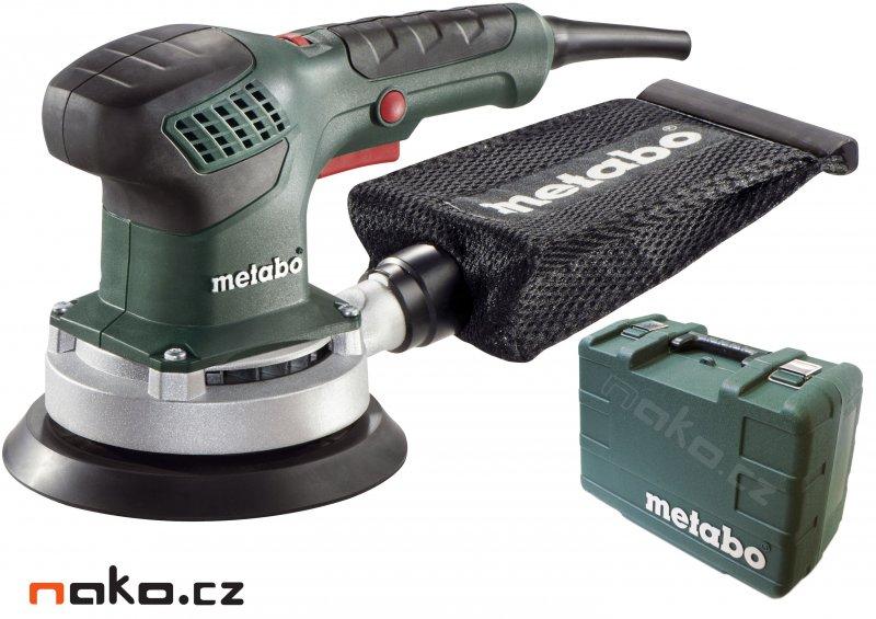 METABO SXE 3150 excentrická bruska 150mm v kufru 600444500