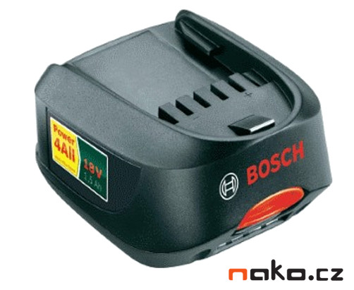 BOSCH 2607336207 akumulátor Li-Ion PBA 18V/1.5Ah - ORIGINÁL