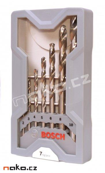 BOSCH sada vrtáků HSS-G Mini-X-Line 2608589295
