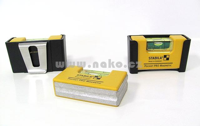 STABILA Pocket PRO Magnetic speciální vodováha