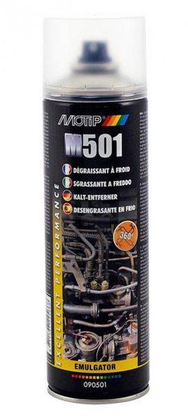 MOTIP čistič motorů ve spreji omyvatelný 500ml 090501