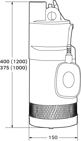 EASY DEEP 1000 A ponorné vícestupňové čerpadlo