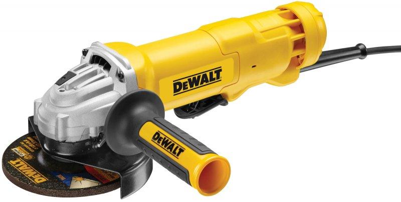 DeWALT DWE4233KT úhlová bruska 125mm 1400W