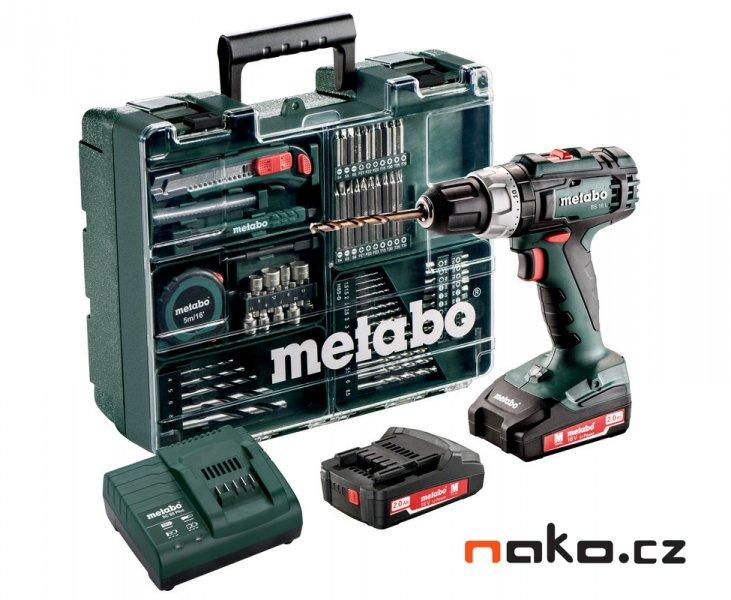 Metabo BS 18 L Set aku vrtačka 2x2,0Ah MOBILNÍ DÍLNA 602321870