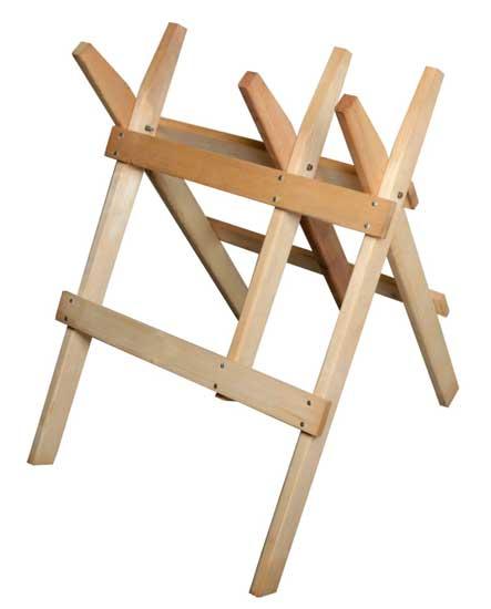 MAGG 120017 dřevěná koza na řezání dřeva