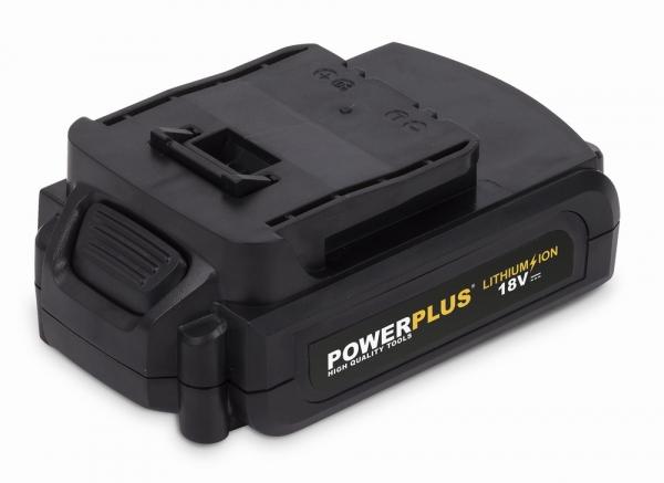 POWERPLUS POWX00593 aku vrtačka 18V 3x 1,5Ah Li-Ion s příslušenstvím