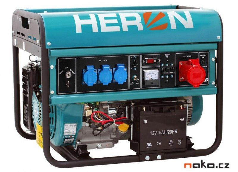 HERON EGM 68 AVR-3E elektrocentrála benzínová 8896120