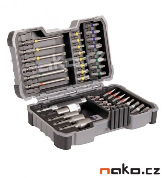 BOSCH sada bitů a nástrčných klíčů 43ks 2607017164