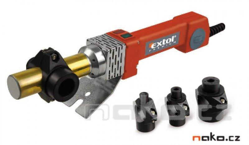 EXTOL PREMIUM PTW 80 svářečka polyfúzní, 800W, 0-300°C 8897210