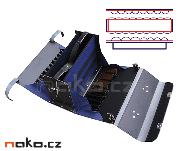 25b88e7016 Profesionální rozkládací montážní brašna na nářadí