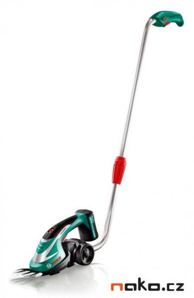 BOSCH AGS 10,8 LI aku nůžky na trávu s teleskopickou násadou 0600856101